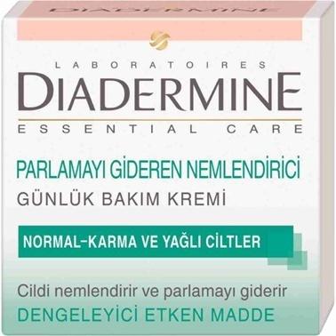 Diadermine  Essential Care Parlamayı Gideren Nemlendirici Krem 50ml Renksiz